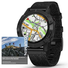 Garmin Fenix 6 PRO Sapphire, BlackDLC/BlackNylon Band (MAP/Music)