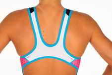 RACER TRISUIT WOMAN PINK ATOLL detail