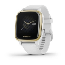Garmin Venu Sq ,LightGold/White Band