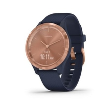 Garmin Vivomove 3S Sport, RoseGold/Blue Band