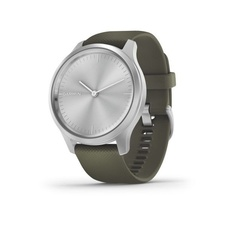 Garmin Vivomove 3 Style, Silver/Green Band
